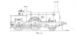 Bird Illustration of a 71 series locomotive