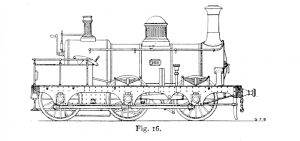 Bird Illustration of a 168 class locomotive