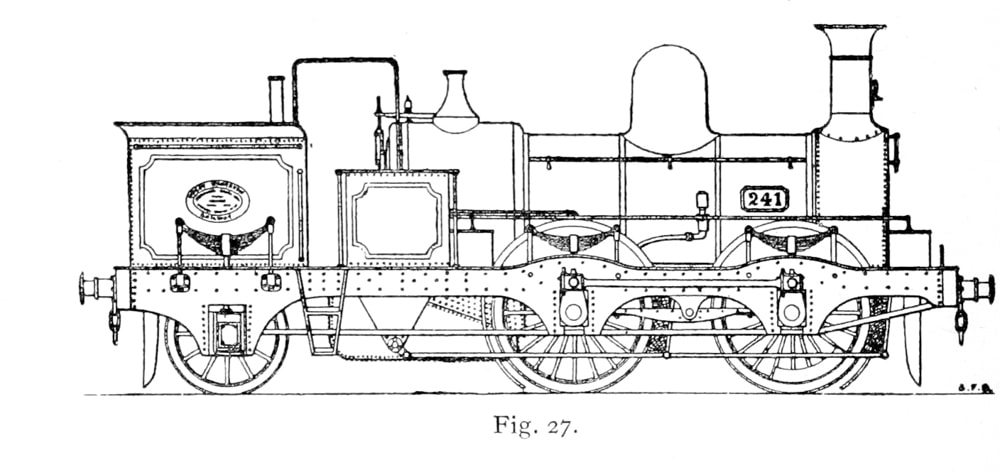 Bird Illustration of a 241 series Metropolitan Tank