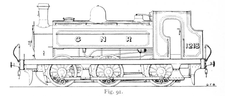 Bird illustration of a 1201 Series locomotive