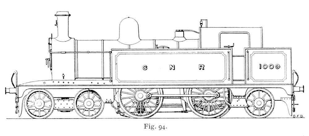Bird's illustration of a C2 Tank Engine