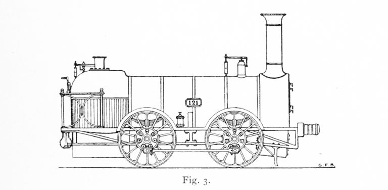 Bird Illustration of Bury Goods loco