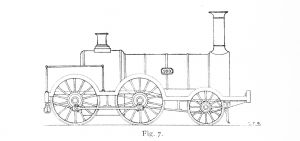 Bird Illustration of Bury prototype 0-4-2
