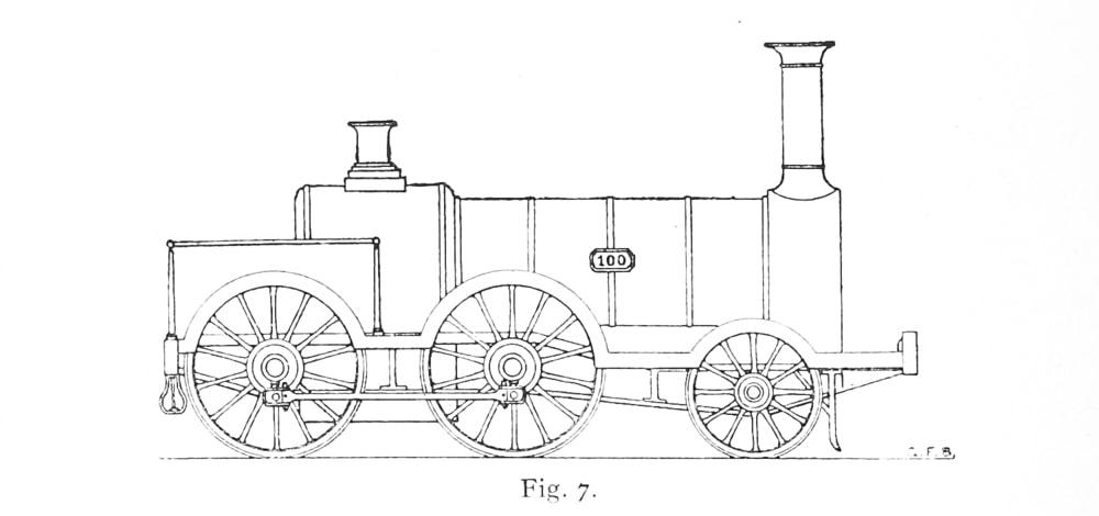 Bird Illustration of Bury prototype 0-4-2
