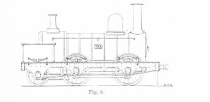 Bird Illustration of Bury modified prototype 0-4-2