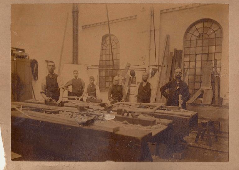 Carpenter's Shop, New England