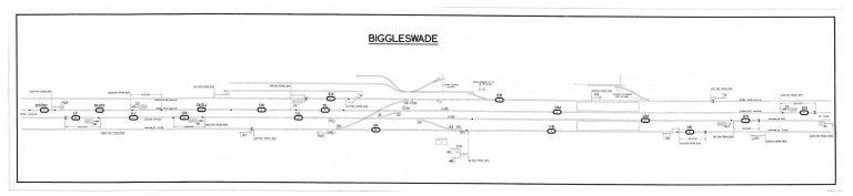 GNR Biggleswade Diagram