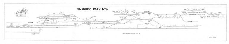 GNR Finsbury Park No 6 New Diagram