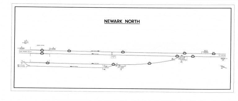 GNR Newark North Diagram