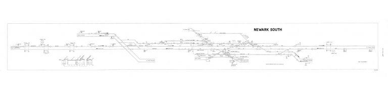 GNR Newark South Diagram