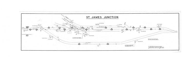 GNR St James Junction Diagram (2)