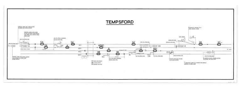GNR Tempsford Diagram